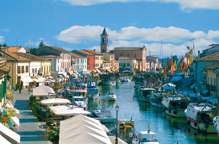 Cesenatico atmosphere