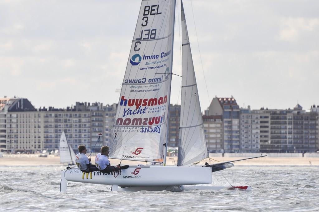 1. Henri Demesmaeker en Alec Bagueě in Knokke-Heist (current European Champions 2015)