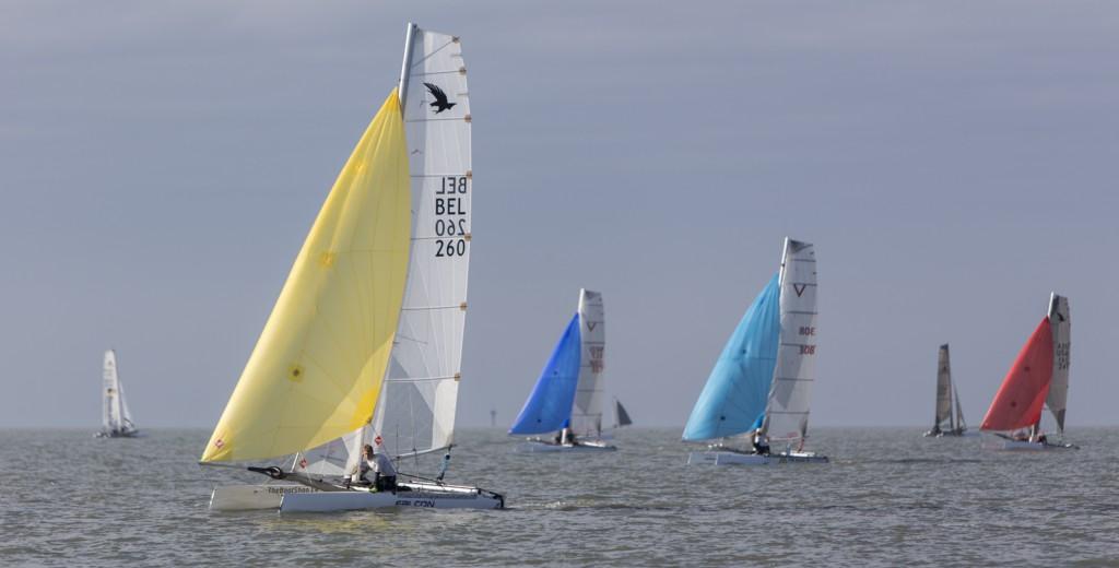 4. Down wind course Formula 16 class